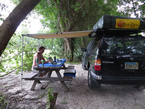 Our new awning from IronMan!