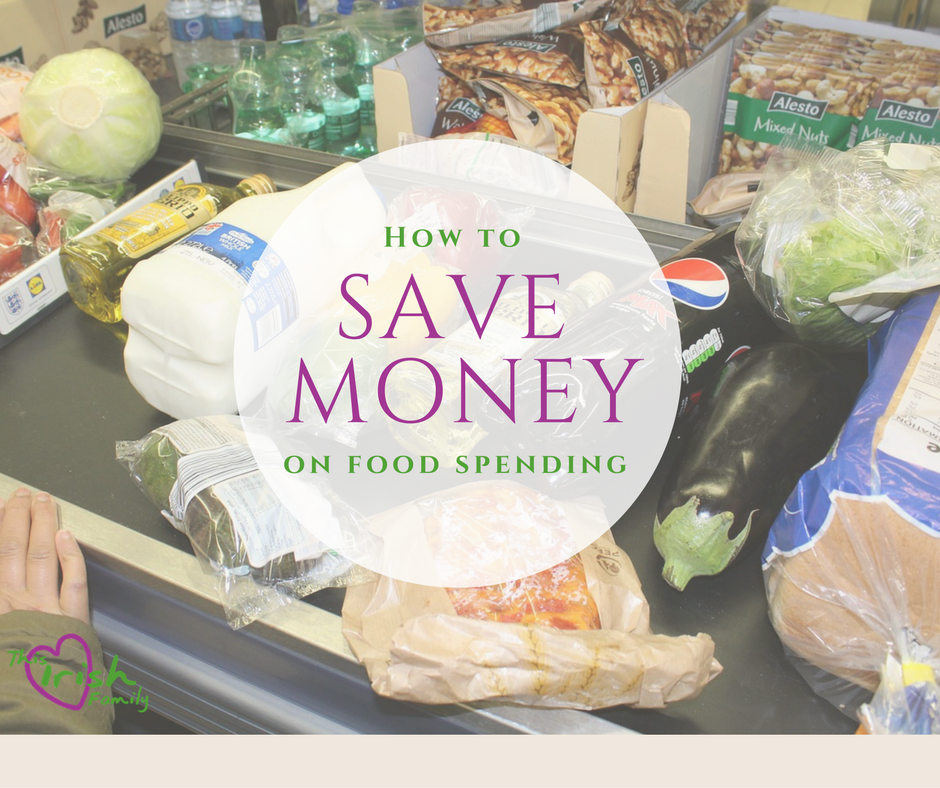 how to save money on food spending
