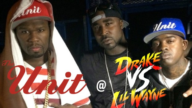 50 Cent @ Drake VS Lil Wayne (Hartford, CT)