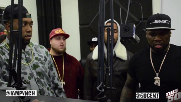 50 Cent Interrupts Interview To Clown Rick Ross For Only Selling 34K Albums