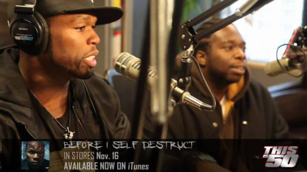 "50 Cent Presents ""2 Turntables and a Microphone"" Documentary 