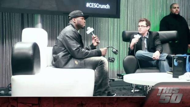 50 Cent Presents SMS Audio at Las Vegas CES Convention Center