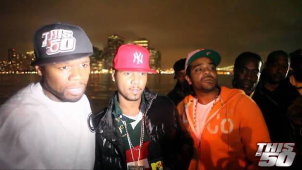 50 Cent with Juelz Santana and Jim Jones – Thisis50 Festival | Interview | 50 Cent