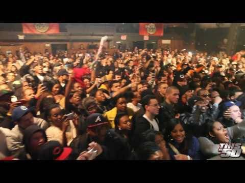 50 Cent x Beanie Sigel Perform in NYC – Myspace Music Release Concert | Live Performances | 50 Cent
