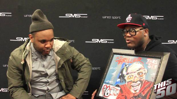 Demont Peekaso Shows & Talks About His Amazing Artwork
