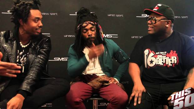 EarthGang Describe Their Sound of Music; Atlanta; Freestyle