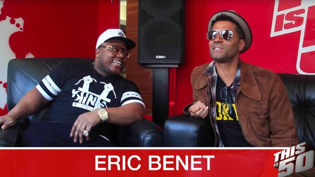 Eric Benet on Collaboration w/ Jack Thriller; Legacy of Prince; Impact of Social Media
