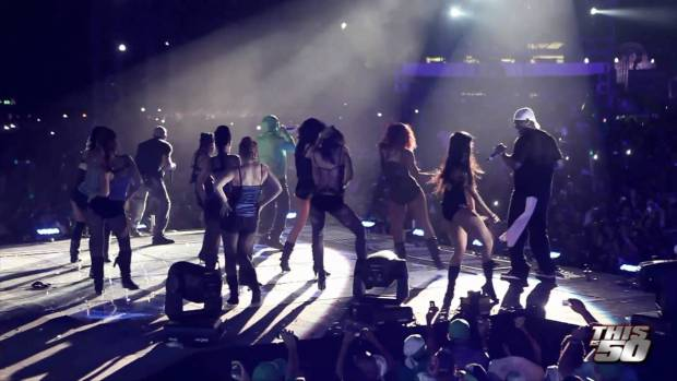 G-Unit in Dominican Republic with Wisin Y Yandel – 8/29/10 | Live Performance | 50 Cent Music