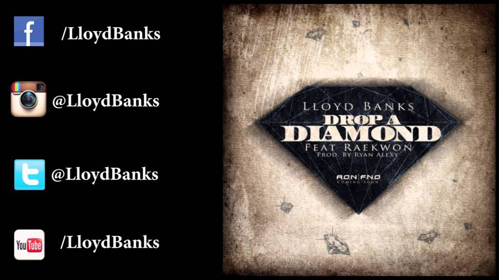 Lloyd Banks – Drop a Diamond (Feat. Raekwon) [Download]
