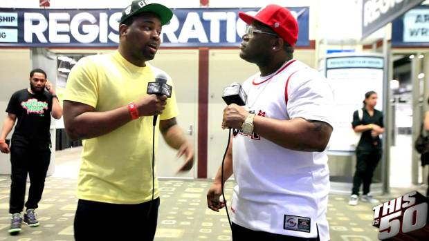 Louie V Gutta on Fans Tossing CDs; New Music; New Artists