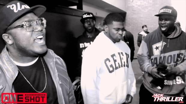 One Shot Rap Battle Pt.1   Atlanta Ga. $100K Cash What Would You Do With It?