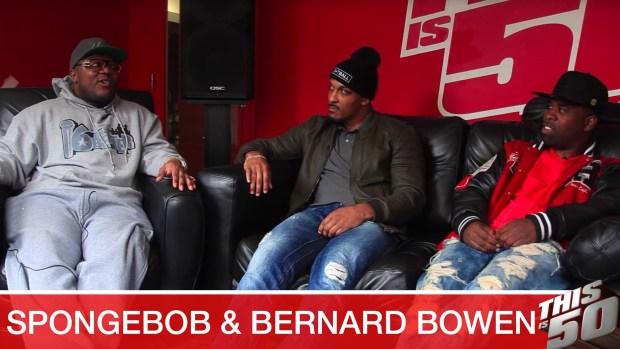 "Spongebob & Bernard Bowen Speak on the World's Most Intense Basketball Competition, ""Fightball"""