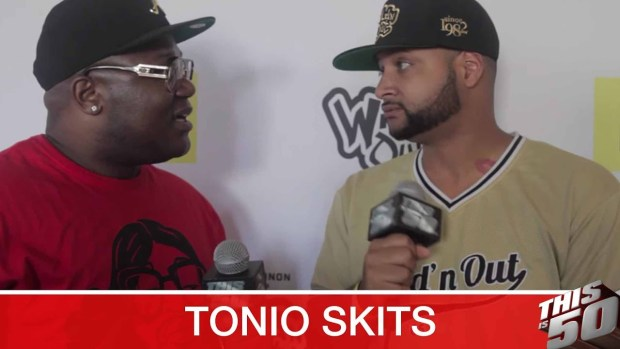 Tonio Skits & Justina Valentine on Being The New Stars on Wild N' Out