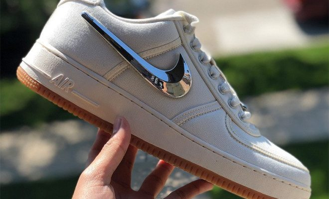 "51704544073e Travis Scott x Nike Air Force 1 Low ""Sail"""