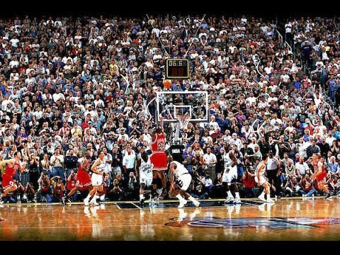 "6026cc9bdbe5 20 Years Ago Today  Michael Jordan Clinches 6th Title With ""The Shot ..."