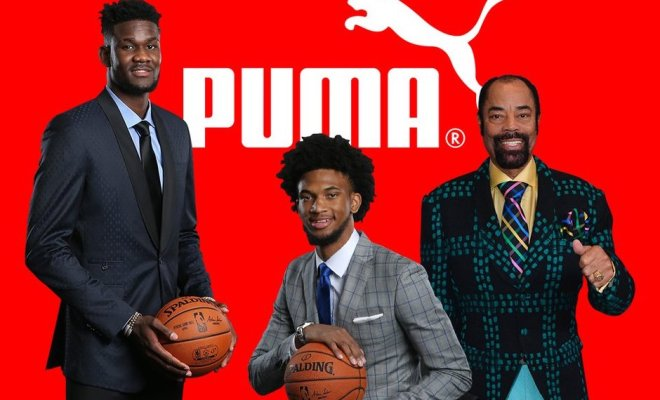 b8c2d01f55b5 Top NBA draft prospects Deandre Ayton and Marvin Bagley III sign with Puma