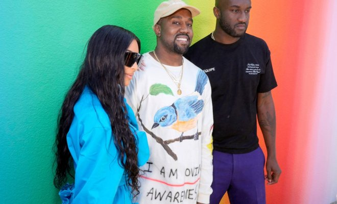 1691830e63dd Virgil Abloh and Kanye West shared an emotional moment at Paris Men s  Fashion Week