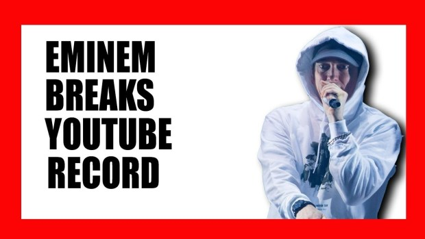 "Eminem Breaks YouTube Record with ""Killshot"""