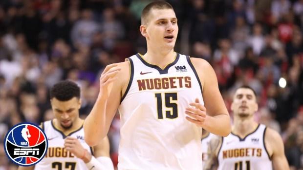 Jokic notches triple-double in Nuggets' win over Raptors |