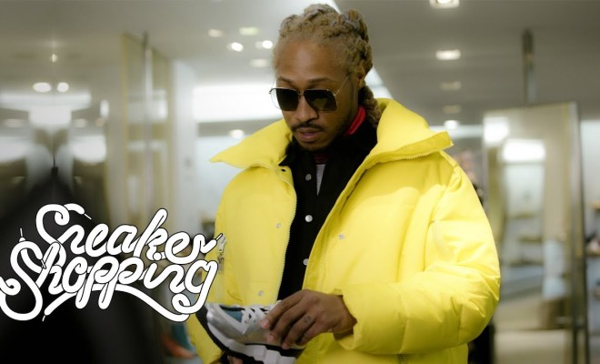 9ffbae5cfc5d29 Future Goes Sneaker Shopping With Complex