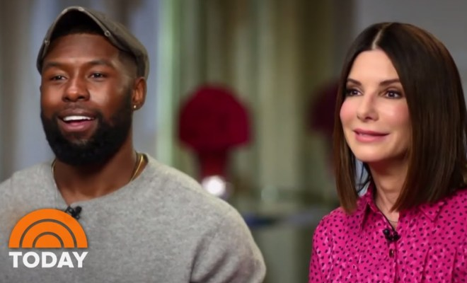 Sandra Bullock And Trevante Rhodes On New Movie 'Bird Box'