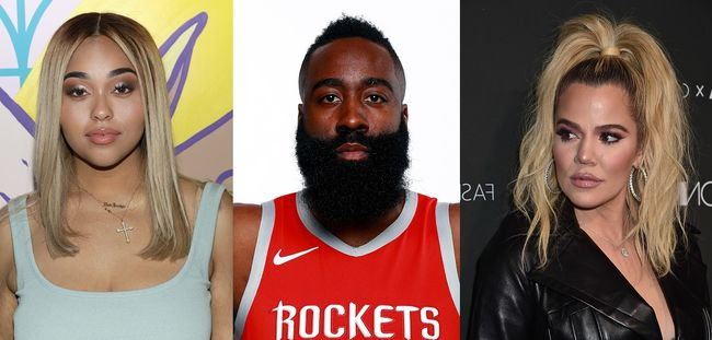 eff8c8bce544 Report  Did Jordyn Woods hook up with James Harden the day after she got  with Tristan Thompson