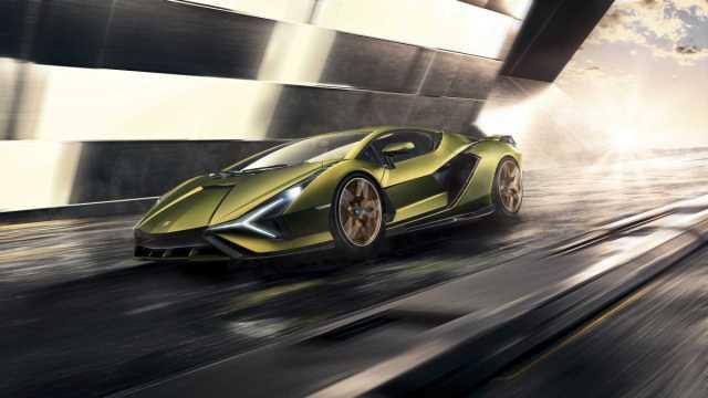 Lamborghini unveils $3.6m 'Sian' hybrid supercar