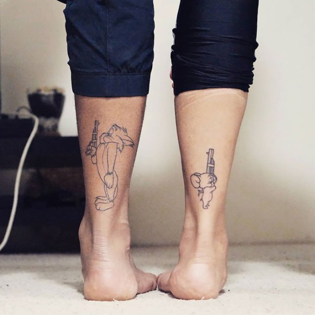 Check out these 31 truly amazing matching tattoos