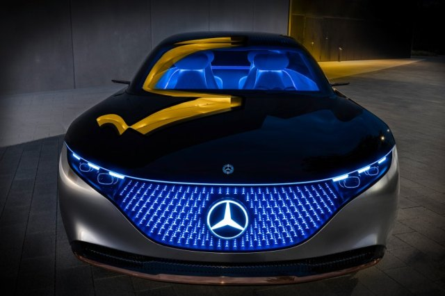 Mercedes-Benz provides a glimpse into the future with the Vision EQS concept at Frankfurt