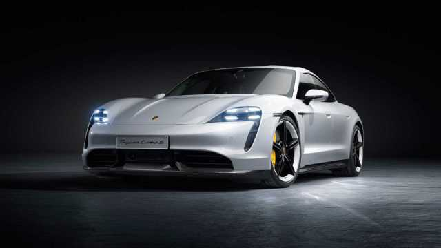 Porsche officially unveils the 2020 all-electric Taycan sedan