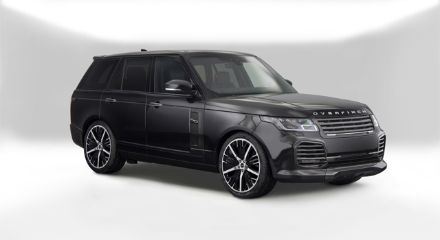 Overfinch debuts $315k limited edition Velocity Range Rover SUV
