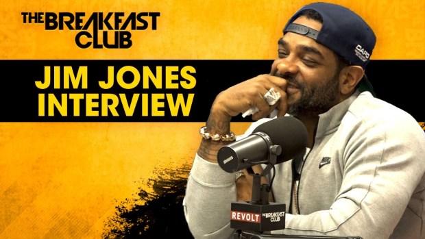 Jim Jones Stays Hush On 6ix9ine Case, Talks Music, 'Saucey' Business With Alex Todd & More