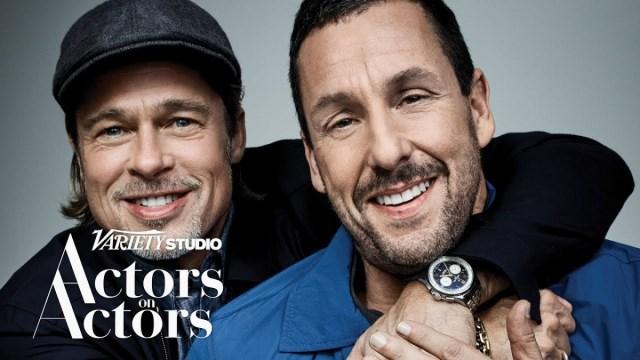 Brad Pitt & Adam Sandler – Actor on Actors – Full Conversation