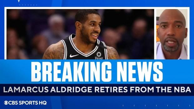 Rip Hamilton on LaMarcus Aldridge's Retirement   CBS Sports HQ