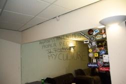 Mr Lydons graffitti