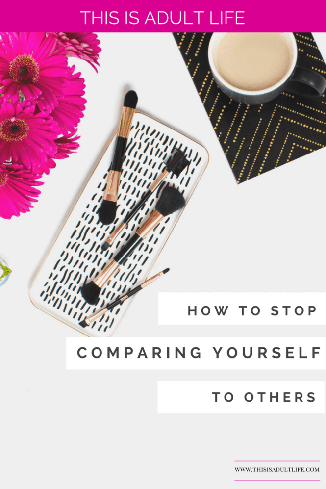 Stop comparing yourself and focus on your goals