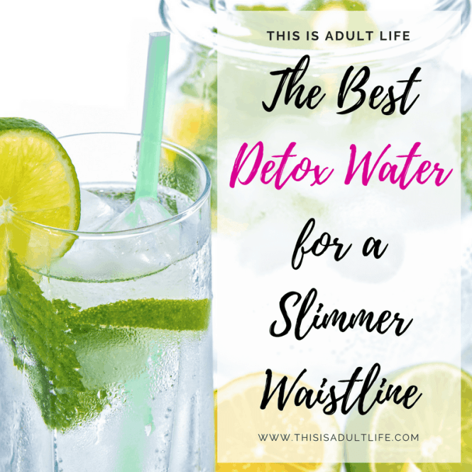Best Detox Water for a Slimmer Waist