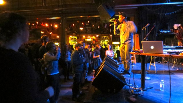 Open Mike Eagle wants to sing to you and show you how he rocks.