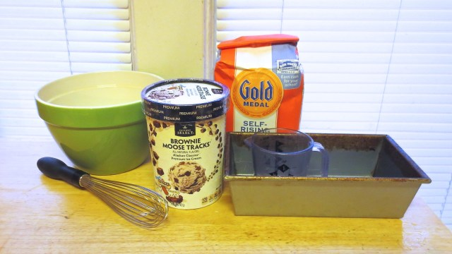 Ice Cream Bread: Ingredients