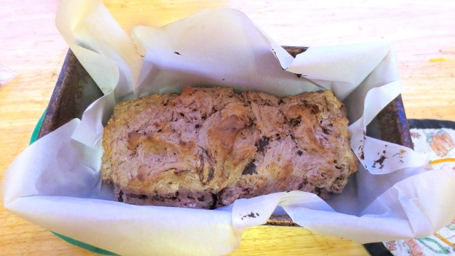 Ice Cream Bread: Finished Product!