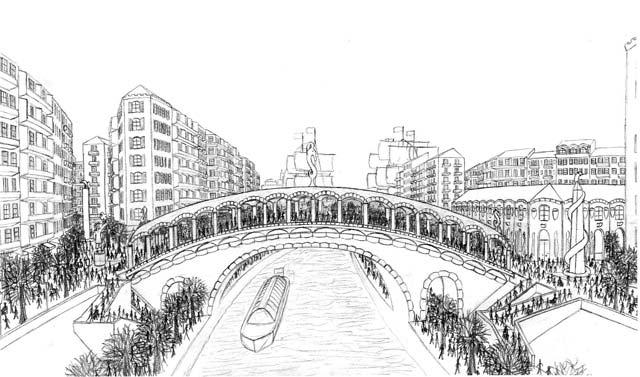 Pont des Investitures (Investiture Bride), built in 1138.