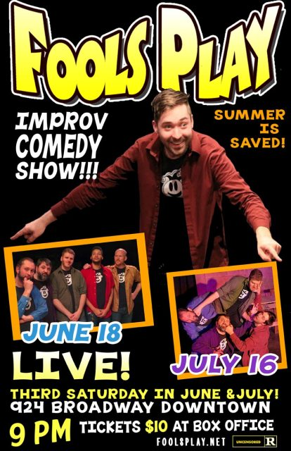 Fools Play Summer Improv: It's True!