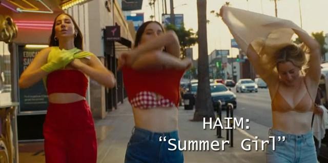 """HAIM: """"Summer Girl"""""""