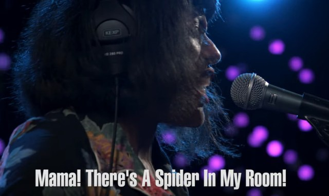 The Black Tones: Mama! There's a Spider In My Room!