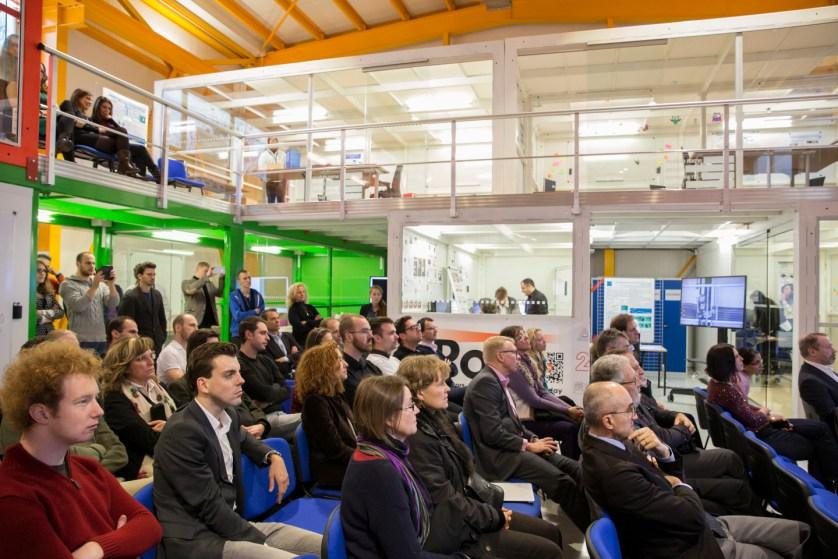 Inauguration of the Ideasquare, CERN