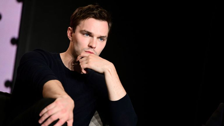 "Nicholas Hoult speaks onstage at ""The Current War"" press conference during the 2017 Toronto International Film Festival at TIFF Bell Lightbox on September 10, 2017 in Toronto, Canada."