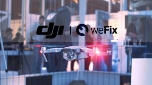 DJI weFix mavic drone image