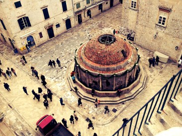Onofrio's Fountain of Dubrovnik; survived the medieval wars as well as the 1990's Balkan Wars.