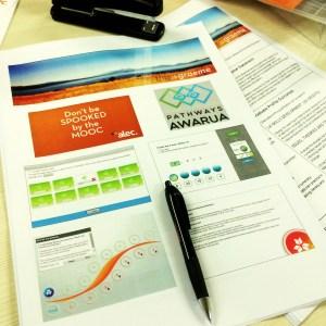MOOC handout image