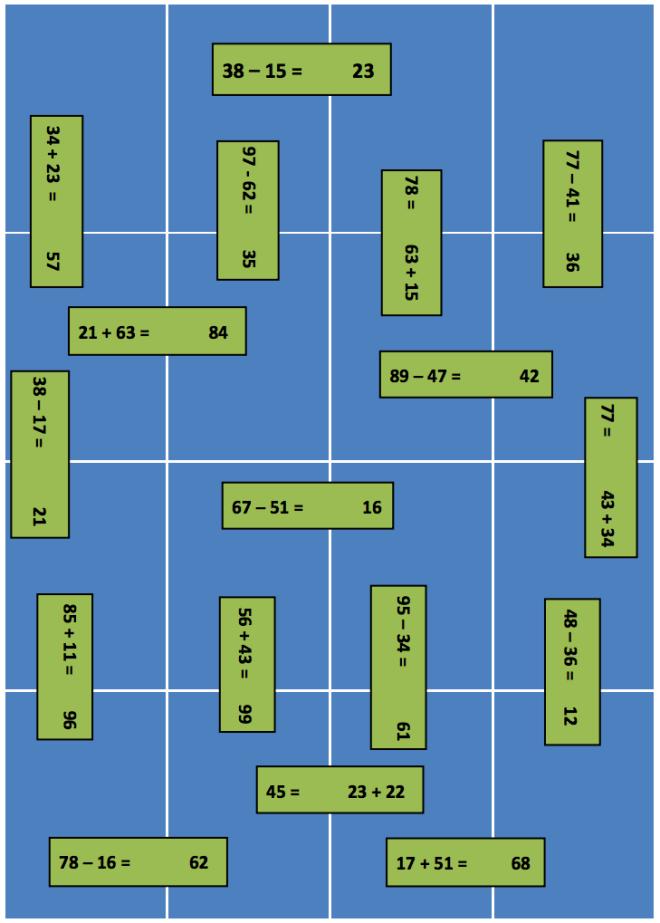 jigsaw subtraction
